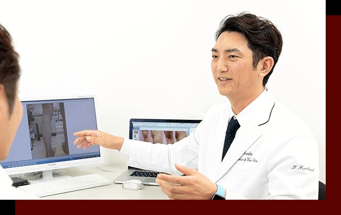 関西随一の下肢静脈瘤の治療実績